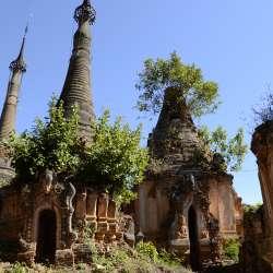 Indein et de ses centaines de stupas (jour 5)