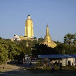 Laykyun Setkyar Standing Buddha (jour 11)